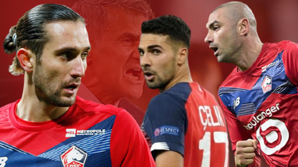 Lille'i 10 yıl sonra şampiyonluğa taşıyan Türk oyuncular sezonun 11'ine alınmadı